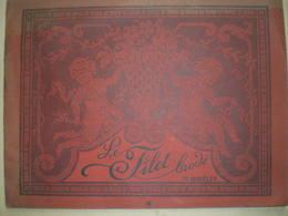 Album Le Filet Brodé Tome II- Anges,angelots-111 Modèles D'ouvrage Pour Dame,Broderie .Edouard Boucherie-Coll RECKO - Loisirs Créatifs