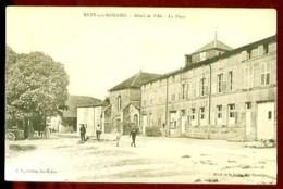 RUPT-aux-NONAINS - Hôtel De Ville - La Place - (Beau Plan Animé) - France