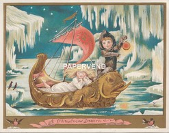 Christmas  Card  A Christmas Dream  Egc196 - Old Paper