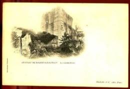 Château De NOGENT-LE-ROTROU (Eure-et-Loire) - Les Contreforts - CP Précurseur, Vers 1900, Dos Non Divisé. - Nogent Le Rotrou