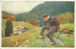 """AK Paul Hey  """"In Einem Kühlen Grunde"""" Dt. Bahnhofsmission 1928 #01 - Hey, Paul"""