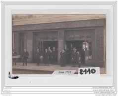 7867 AK/PC/CARTE PHOTO A IDENTIFIER STOP BAR CAFE AU N° 23 - Cartoline