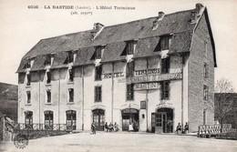 LA BASTIDE - L'Hôtel Terminus (enseigne : Changement De Propriétaire MARTIN) - France