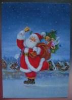 Santa Claus Is Skating On Ice - Arias/ Vernet - Santa Claus