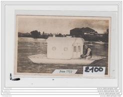 7794 AK/PC/CARTE PHOTO A IDENTIFIER/BARQUE HABITATION - Cartoline