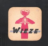 OUD Bierviltje - Sous-bock - Bierdeckel : WIEZE  - VAN ROY   (B 430) - Bierdeckel