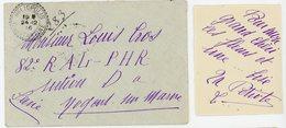 ALGERIE LAC 1916 HELIOPOLIS CONSTANTINE FACTEUR BOITIER T84 EN FM SUPERBE - Marcophilie (Lettres)