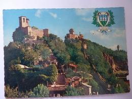 """Cartolina Viaggiata """"SAN MARINO """" 1969 - San Marino"""