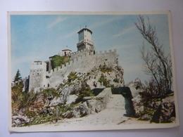 """Cartolina """"Castelli Della Romagna SAN MARINO""""  Pubblicitaria """"CABROSOL MAGGIONI - MILANO"""" Anni '60 - San Marino"""