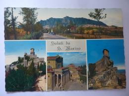 """Cartolina Viaggiata """"Saluti Da San Marino"""" 1970 - San Marino"""