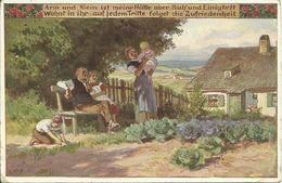 """AK Paul Hey """"Arm Und Klein"""" Volkslied Color 1926 #91 - Hey, Paul"""
