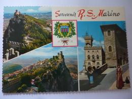 "Cartolina Viaggiata ""Souvenir R.S. Marino"" 1970 - San Marino"