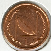 Ile De Man Isle 1 Penny 1997 AA Rugby KM 588 - Regional Coins