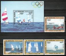 Mauritania 1984 / Olympic Games Los Angeles Sailing MNH Juegos Olímpicos Vela Olympische Spiele / Cu10713  4 - Verano 1984: Los Angeles