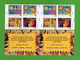 Svizzera - SWITZERLAND** - 2000 - Concours De Dessin D'Enfants. Neuf.   MNH. - Blocchi