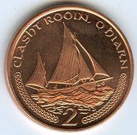 Ile De Man Isle 2 Pence 2002 AC Voilier KM 1037 - Regional Coins