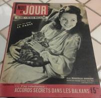 Nuit Et Jour N°103 Décembre 1946 René Clair Le Silence Est D'or Maurice Chevalier François Perier, Marcel Cerdan - Books, Magazines, Comics