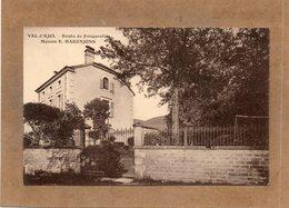 CPA - VAL-d'AJOL (88) - Sur La Route De Fougerolles , Aspect De La Maison E. Hakenjoss Dans Les Années 20 - France