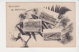 26627 RENNES France 35 Souvenir De Rennes Fougere -ed La Cigogne - Rennes
