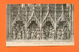 CPA FRANCE 80  ~  AMIENS  ~  21  La Cathédrale - Scènes De La Vie De Saint-Jacques  ( LL ) - Amiens