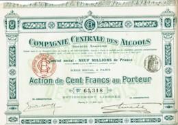 75-ALCOOLS. Cie Centrales Des Alcools. - Other