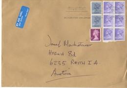 Auslands -Brief Von ? Mit 125 LP Mischfrankatur Queen 2019 - 1952-.... (Elisabeth II.)