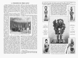 LA PHILOSOPHIE Des NEGRES BANTUS  ( FETICHES ) 1907 - Art Africain