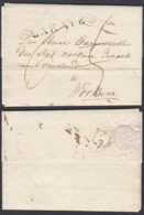 "PAYS-BAS 1813 ""LA HAYE "" Vers WORHUM  (6G24546) DC-1596 - Pays-Bas"