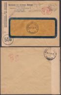 LETTRE DE  BUXELLES  16/04/1945 AFFR.MECAN Vers KINDU CENSURE (DD) DC-1611 - 1923-44: Storia Postale