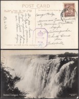 RHODESIE CP DE VICTORIA FALLS 13/06/1942 Vers MWADINGUSHA  CENSURE  (DD) DC-1626 - Belgian Congo