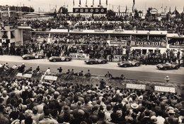 DPT 72 LE MANS CIRCUIT DES 24 HEURES Préparation Du Départ Les Stands De Ravitaillement - Le Mans