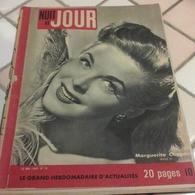 Nuit Et Jour N°73 Mai 1946 De Gaulle Sur La Tombe De Clemenceau,Georges Guétary,Fred Astaire Bing Grosby - Books, Magazines, Comics