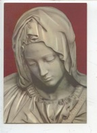 Michelangelo (Michel-ange) La Pieta - Détail Portrait (Roma) Cp Vierge - Sculture