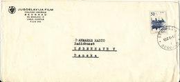 Yugoslavia Cover Sent To Denmark Beograd 13-6-1964 Single Franked - 1945-1992 Socialist Federal Republic Of Yugoslavia