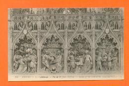 CPA FRANCE 80  ~  AMIENS  ~  194  La Cathédrale - Vie De St-Jean-Baptiste  ( LL ) - Amiens