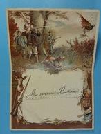 Menu De Chasse Clavier 1904 ??? - Menus