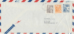 Yugoslavia Air Mail Cover Sent To Germany 21-1-1958 - Airmail