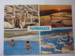"""Cartolina Viaggiata """"PAMMUKALE"""" 1967 - Turchia"""