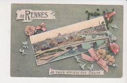26632 RENNES France 35 Souvenir De Rennes Pont Abattoir Mail Envoie Fleurs -ed Mary Rousseliere - Rennes