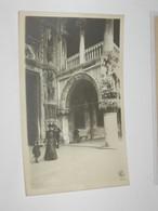 Venezia Porta Della Carta Foto Generini Movimentata BN NV - Venezia