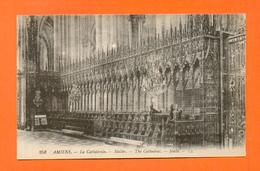 CPA FRANCE 80  ~  AMIENS  ~  258  La Cathédrale - Stalles  ( LL ) - Amiens