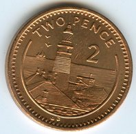 Gibraltar 2 Pence 1995 AB KM 21a - Gibraltar
