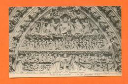 CPA FRANCE 80  ~  AMIENS  ~  259  Portail De La Cathédrale - Le Jugement Dernier  ( LL ) - Amiens