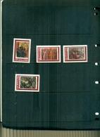 BULGARIE TABLEAUX 4 VAL NEUFS A PARTIR DE 0.60 EUROS - Unused Stamps