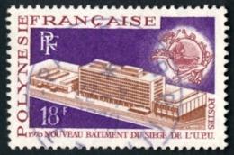 POLYNESIE 1969 - Yv. 71 Obl.   Cote= 7,00 EUR - 50ème Anniv. De L'OIT  ..Réf.POL23512 - Polynésie Française