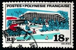 POLYNESIE 1970 - Yv. 75 Obl.   Cote= 5,00 EUR - Maeva  ..Réf.POL23513 - Polynésie Française