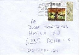 Auslands - Brief Von Briefzentrum 17 Mit 90 Cent Reinhardswald Eckrandstück 2019 - BRD