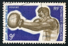 POLYNESIE 1969 - Yv. 66 Obl.  - Boxe  ..Réf.POL23522 - Polynésie Française