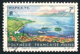 POLYNESIE 1964 - Yv. 32 Obl.  - Paysages De Polynésie Française : Papeete  ..Réf.POL23525 - Polynésie Française