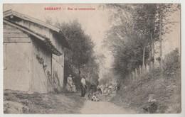 CPA 51 BREBANT Rue En Construction - France